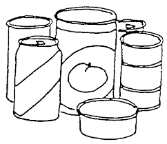 Clip Arts Related To Canned Food Clip Art
