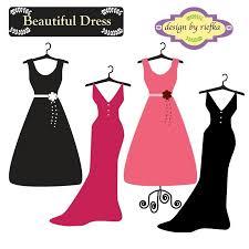 Vintage Dresses Cliparts 2436629