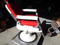 vintage 1950 s or 1960 s theo a kochs barber chair ebay