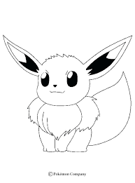 Eevee Coloring Sheets Pages To Print Page More On Cute All Co