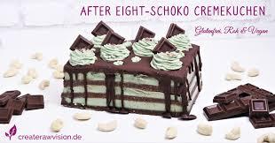 after eight schoko cremekuchen mit spirulina glutenfrei