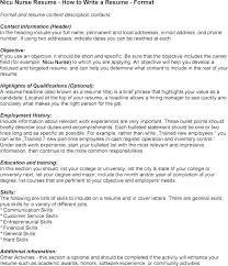 Responsibilities Of A Neonatal Nurse Resume Top Hard Skills List Example