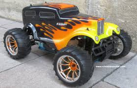 100 Monster Truck Nitro RC Gas RTR 110 Scale 4WD 24G 1 Year Warranty