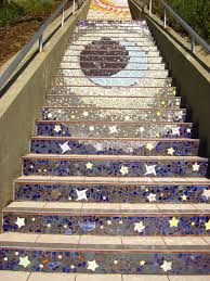 16th Avenue Tiled Steps In San Francisco by Avenue Tiled Step Project