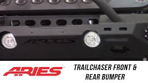 In The Garage™ With Total Truck Centers™: ARIES TrailChaser Front ... Aries Seat Defender 314209 Bucket Black Discount Hitch Truck Advantedge Bull Bar Aries 2155001 Titan Equipment And Headache Rack Free Shipping Youtube Grille Guards B351002 Tuff Parts The Source For Side Bars Wmounting Brackets 2555010 Install Switchback On 2016 Gmc Canyon 11109 Fender Flares 2500201 Accsories Running Boards Jeep Wrangler Steps