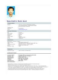 Format Resume 2018 Malaysia