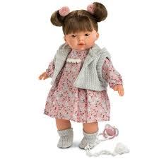 Buy LLORENS Spanish Doll Baby Crying Carol 33 Cm