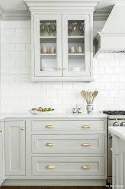 look we love gray kitchen cabinets with brass hardware kitchen