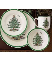 Spode Christmas Tree Mugs With Spoons by Holiday U0026 Christmas Shop Dillards