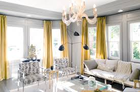 Gold Curtains Living Room As For Grey Benches Idea