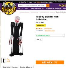 Halloween Express Raleigh Nc by Wisconsin Community Outraged Over Sale Of Slender Man Halloween