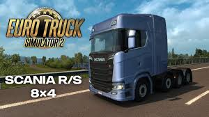 100 Truck Simulator 2 Euro Introducing 8x4 Chassis For Scania R And S