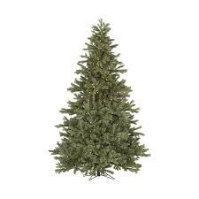 Vickerman Pre Lit Flocked Christmas Tree by Shop Vickerman 7 5 Ft Pre Lit Frasier Fir Artificial Christmas