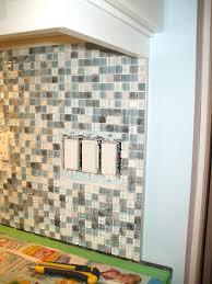 edging for tile backsplash glass tile edge exles subway outlet