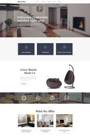 100 Home Interior Website Decor Design Multipage HTML5 Template