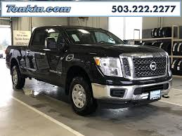 Pre-Owned 2018 Nissan Titan XD 4WD Truck In Portland #WRC12350 | Ron ...