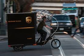 100 Ups Truck Dimensions UPS Now Using Pedalpowered Trike To Deliver Freight In
