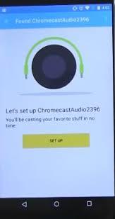 Chromecast audio setup from ios windows 10 or android plete