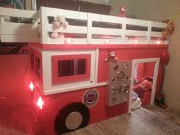 100 Kids Truck Bed Room Fascinating Fire Bunk For Lovely Room