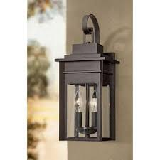 minka irvington manor 16 3 4 high bronze outdoor wall light