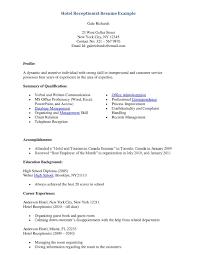 Front Desk Agent Jobs Edmonton by Front Desk Resume Samples Sidemcicek Com