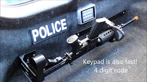 Police Vehicle Electronic Rifle Rack - RFID - YouTube Gun Rack Stock Photos Images Alamy Photo Gallery Nonlocking Big Sky Racks Progard G5500 Law Enforcement Vehicle Ceiling No Drilling Headrest 969 At Sportsmans Guide Sling Haing Bag For Car Gizmoway Centerlok Overhead Trucks Youtube Allen Bow Tool For 17450 Ford Ranger Regular Cab 6 Steps 2 And Suvs Cl1500 F250 Amazon Best Truck Great Day Discount Ramps