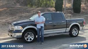 2013 RAM 1500 Laramie HEMI Test Drive & Pickup Truck Video Review ...