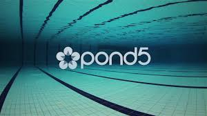 Empty Olympic Swimming Pool Underwater Footage 46528188