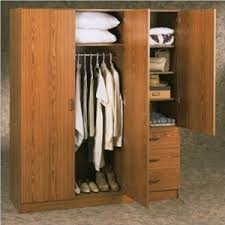closets wardrobe ameriwood 3 door 3 drawer wardrobe 9129 azfs401