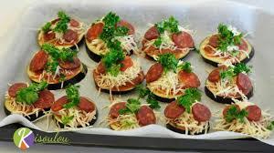 idée canapé apéro toast apéritif chorizo aubergine recette par chef rolly chez kisoulou