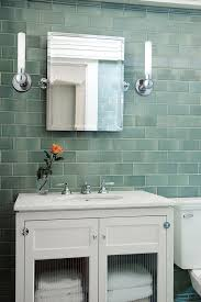 bathrooms with glass tile room design ideas
