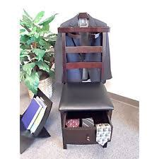 Mens Valet Dressing Chair by Valet Chair Stand Men Clothes Organizer Rack Suit Hanger Butler