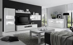 wohnzimmer set wohnwand anbauwand 500cm weiß weiß hochglanz neu