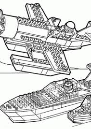 Lego Space Transportations Coloring Page For Girls Printable Free