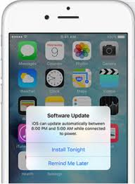iOS 9 OTA Automatic Software Update Feature