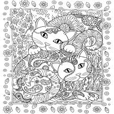 Creative Haven Cats Colouring Book For Adults Antistress Coloring 185x21 Secret Garden Series Adult In Books From Office