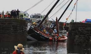 Hard Merchandise Tuna Boat Sinks by Ancient Fishing Vessel Reaper Will Sail South To Arbroath For