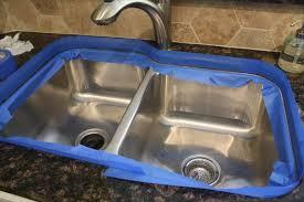 how to caulk a kitchen sink