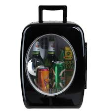 Smad 12V 110V Car Mini Fridge Travel Camping Cooler And Warmer ...