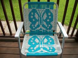 Vintage Aluminum Folding Macrame Lawn Patio Outdoor Chair Turquoise ... Stylish Collection Of Outdoor Chaise Lounge Chairs Sling Pair Of Lawn By Telescope Fniture Company For Sale At 1stdibs A Guide To Buying Vintage Patio Design Costco Beach Inspiring Fabric Sheet Chair Cheap Find Deals On Line Rejuvenate Metal 12 Steps With Pictures Table Clearance Big Home Depot Macram Blue White Retro Antique Knitted Bean Bag 56 Gliders 1000 Ideas About Details About 2 Vintage Sunbeam Matching Alinum Folding Webbed