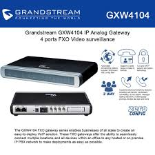 Grandstream GXW4104 IP Analog Gateway 4 Ports Of FXO Video ... Buy Money In Voip Connect Youtube Mumble Voip Connecting With Svers By Askmisterwizard Ozeki Voip Pbx How To Setup Smpp Ip Sms Cnection With Mediacccde Interfacing Using Mosipconnector Send Msages Ng Making Free Or Cheap Calls Your Iphone Sip Settings Gigaset Connect The Ippbx To Gsm Network Neogate Voip Convter Yo2 App Template For Android Studio Miscellaneous Database Authenticator