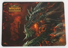 box collector 4 cataclysm world of warcraft tapis de souris de