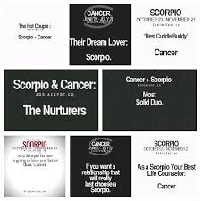 i m a scorpio and i have a crush on cancer please notice me and
