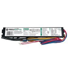 ge 120 volt electronic ballast for 4 ft 2 l t8 fixture ge232