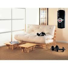 canapé futon canape lit futon convertible 1 ou 2 places sirona