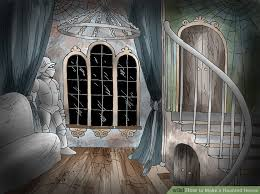 House Legend In Hannibal Stairs Inside A Haunted Clipart Interior Pencil And Color