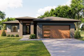 100 Modern One Story House Plan 62752DJ Level Plan With 3 Bedrooms