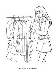 Cool Design Ideas Barbie Coloring Pages Games The 25 Best On Pinterest