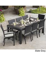 8 Person Patio Table by Holiday Special Audubon 8 Person Aluminum Patio Dining Set With