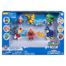 Bath Gift Sets At Walmart by Paw Patrol Snow Rescue Arctic Pups Action Pack Gift Set